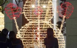 组图:圣诞灯饰绚丽迷人