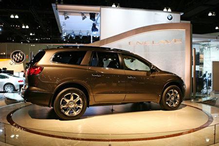 别克(Buick) Enclave 2008 6人座豪华多用途厢型车。(季媛摄影/大纪元)