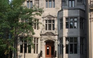 蒙特利尔市中心的住宅(大纪元记者辛笛摄影)