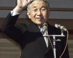 日皇明仁二十三日上午在皇居接受民众祝贺他七十三岁生日。(Photo by Junko Kimura/Getty Images)