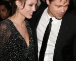 小布和裘莉在纽约(Photo by Bryan Bedder/Getty Images)