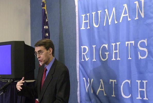 图为《人权观察》执行主任肯尼斯‧诺斯(Kenneth Roth)。 (NICHOLAS KAMM/AFP/Getty Images)