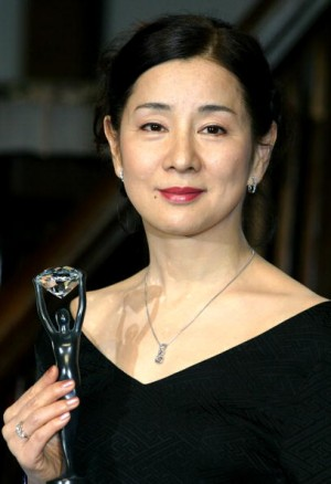 1945年生的吉永小百合代言钻石。(Junko Kimura/Getty Images)