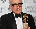 """好莱坞外籍记者协会主办的电影金球奖15日晚登场,马丁史柯西斯(Martin Scorsese)以""""神鬼无间""""赢得最佳导演。(GABRIEL BOUYS/AFP/Getty Images)"""