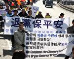 韩国民众立春大吉日声援1800万勇士退党(摄影记者安熙太/大纪元)