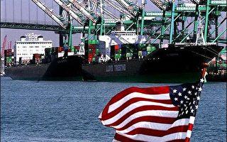 美國商務部7月6日公布數據顯示,5月份貿易帳赤字下降至465億美元,降幅為2.3%。(法新社)