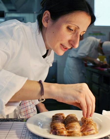 組圖:法國首位米其林三星女主廚