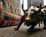华尔街上著名的金牛(Spencer Platt/Getty Images)