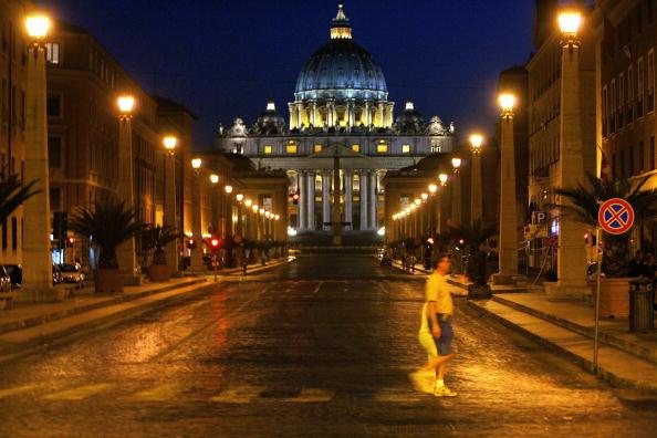 梵蒂岡是當今世界上最小的國家,也是個主權獨立的國家。(圖片來源: FILIPPO MONTEFORTE/AFP/Getty Images)