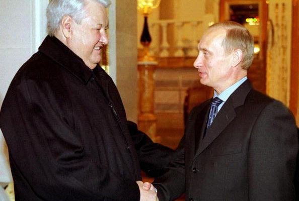 普京当年只是叶利钦接班第二人选