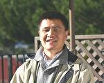 中国民主教育基金会理事、六四学生领袖之一周锋锁。(摄影 马有志/大纪元)