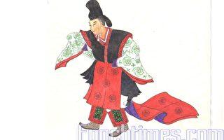 充滿張力中國宮廷古樂舞 有武將表演