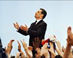 """中共在媒体已经公开表示对萨尔科齐新任法国总统后的""""期待""""。图为刚刚当选的法国新总统萨尔科齐。法新社图片。"""