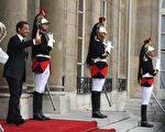"""萨尔科奇在就职演说中表示,法国需要""""与过去的行为决裂""""。(Photo by Eric Bouvet/Getty Images)"""