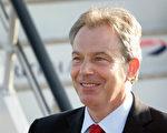 2007年6月2日,英国首相布莱尔在伦敦希斯罗机场。(Peter Macdiarmid/Getty Images)