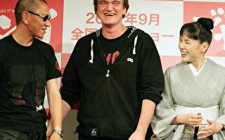 組圖:導演昆汀東京宣傳《壽喜燒西部片》