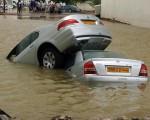 飓风带来洪水的肆疟造成重大损失。(MOHAMMED MAHJOUB/Stringer/AFP/Getty Images)