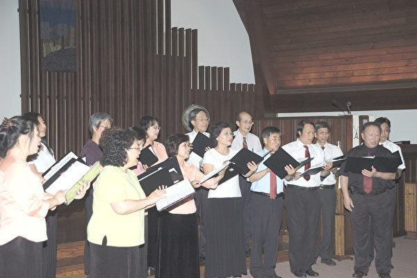 圖片新聞﹕明德合唱團舉辦小型音樂會