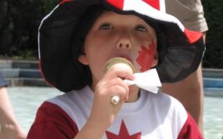 組圖:卡爾加里歡慶加拿大生日