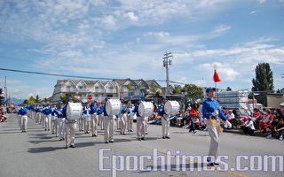 加國慶日 溫哥華天國樂團隊首次亮相
