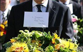 英國首相布朗訪問法國。(圖片來源:法新社)
