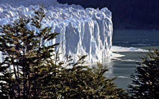 南美阿根廷冰川国家公园(Los Glaciares)的莫雷诺冰川(Glacier Perito Moreno)(法新社)。