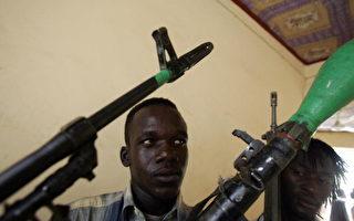 蘇丹解放軍隊的士兵。(MUSTAFA OZER/AFP/Getty Images)