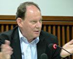 """欧议会副主席在曼谷举行的""""亚洲民主人权状况及展望""""论坛上﹐称活摘法轮功学员器官是犯罪。(大纪元)"""