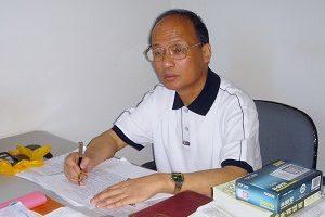 上海著名人权律师郑恩宠(大纪元)