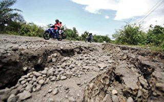 组图:印尼再发生多次强烈地震