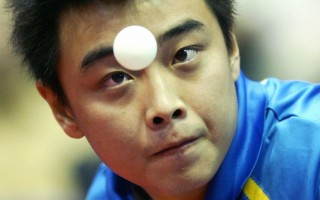 中国王皓日渐成熟,大赛中表现越来越稳定。(HRVOJE POLAN/AFP/Getty Images)