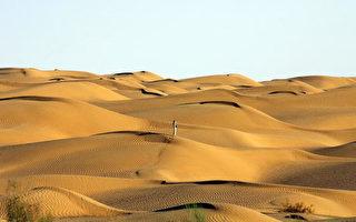 七律:忆访塔克拉玛干沙漠中部