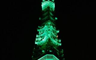 东京铁塔的灯光颜色随季节转变(图片来源:Getty Images)