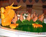 华商经贸联谊总会举办国际美食展