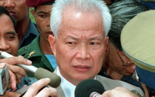 乔森潘是红色高棉的关键人物。(DOUG NIVEN/AFP/Getty Images)