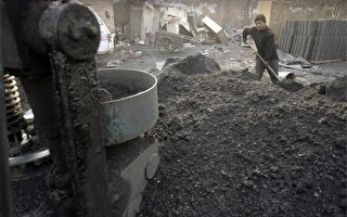 根據世界自然基金會的計算,2006年中國煤炭的真實成本比當年價格高出了56%。(PETER PARKS/AFP/Getty Images)