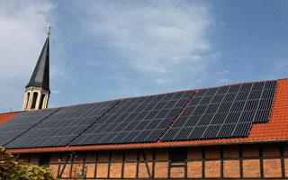 """2007年,德国东部拥有1000个住屋的Dardesheim村庄被誉为""""能源花园"""",经营者矢志将再生能源推至邻近Schoeningen村的Buschhaus褐煤发电厂,以风力、太阳能及生质物等设备取而代之。 (BARBARA SAX/AFP/Getty Images)"""