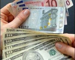 美元今天兌換主要貨幣匯價走貶,而加拿大銀行意外降息,也促使加元匯價下跌。//法新社