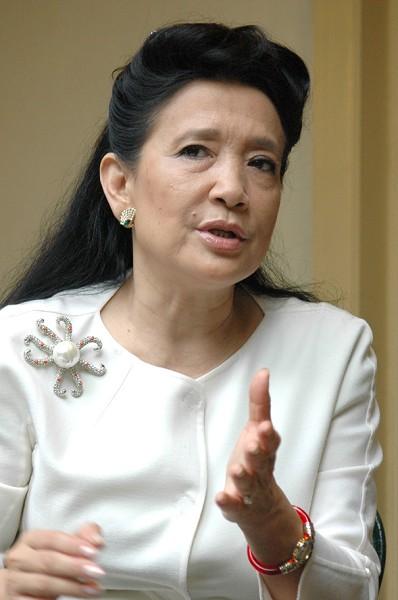 《毛澤東:鮮為人知的故事》的作者、著名女作家張戎((攝影:明國/大紀元))