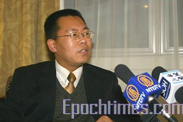 专访2007年法国人权奖得主滕彪律师