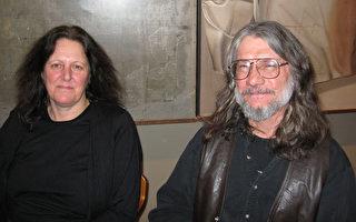 在中学教授自然科学的Guy Ladoucevr,他和妻子一起前往看神韵晚会(摄影:大纪元/李佳)