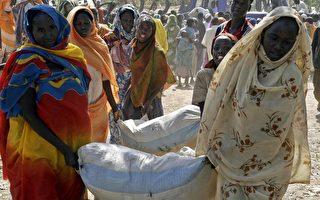 自2003年蘇丹達佛爆發衝突後,已有二十萬人死亡,二百五十萬人被迫離鄉背井淪為難民。(BOSIRE BOGONKO/AFP/Getty Images)