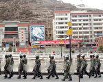 中共武力鎮壓西藏(TEH ENG KOON/AFP/Getty Images 2008-3-21)