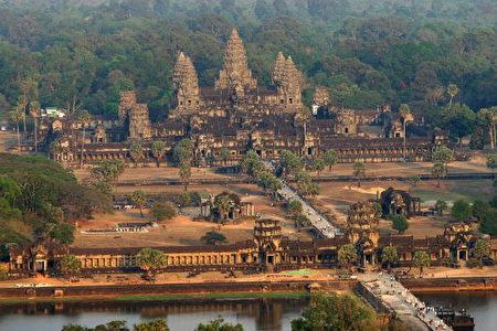 高棉的吳哥窟名列人類七大遺跡(圖片來源:gettyimages)