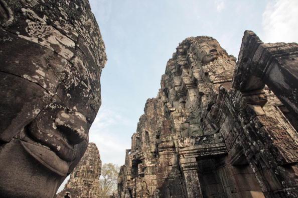 吳哥窟以建築宏偉與浮雕細緻聞名於世,是世界上最大的廟宇群。(圖片來源:gettyimages)