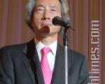 日本民間組織就下一任首相的人選開始進行了民意調查,結果顯示首選竟是,前首相小泉純一郎。(攝影:吳麗麗/大紀元)