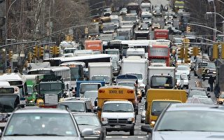 交通拥挤已超越犯罪成为纽约社区头号关注的问题。(Mario Tama/GettyImage)