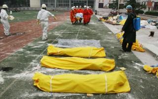 汉旺镇目击:孩子尸体铺满三个篮球场