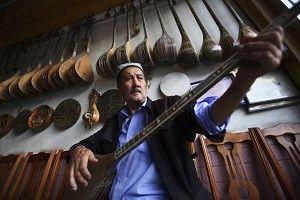 傳統的 維吾爾族樂器 (圖片來源:China Photos/Getty Images)