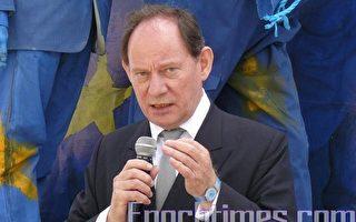 欧议会副主席关注受酷刑的法轮功学员